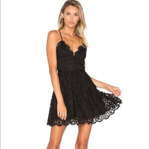NBD x Revolve Black Mini Dress